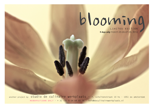 poster blooming - easter eating special