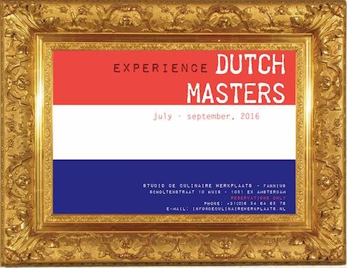 flyer eatinspiration dutch masters