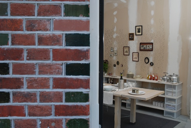 voordeur van de culinaire werkplaats in amsterdam