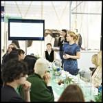 marieke eyskoot opent persontbijt ter gelegenheid van de launch van MINT @ de modefabriek