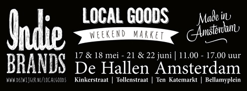 poster local goods market amsterdam june 21-22, 2014