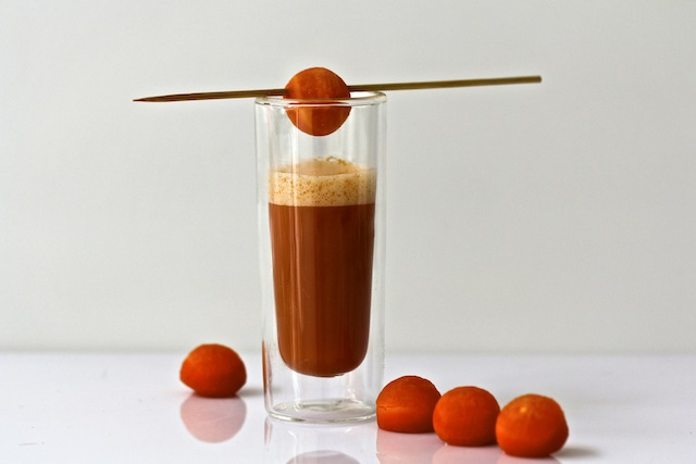 spicy carrot soup by de culinaire werkplaats