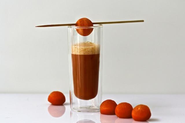 spicy carrot soup by de culinaire werkplaats