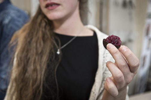freekeh bonbons created by de culinaire werkplaats.
